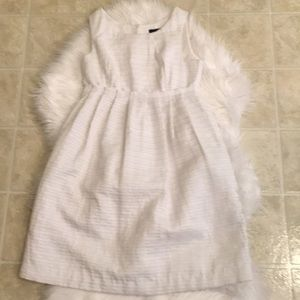 White dress for petite people, inside Small❤️